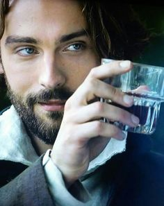 Crane raises a toast to Abbie Rodrigo Santoro, Kit Harrington, Stephen James, Jane Eyre, Cary Grant, Michael Fassbender, Actor Keanu Reeves, Film Tim Burton, Legend Of Sleepy Hollow