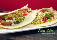 The Shady Porch: Corn Salsa...serve on Fish Tacos or as a side dish...