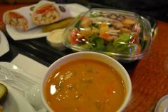 Soup from Majestic Delicatessen.