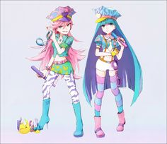 Pastel Panty and Stocking