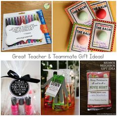 Thoughtful Teacher & Teammate Gift Ideas {That Won't Break Your Bank!}