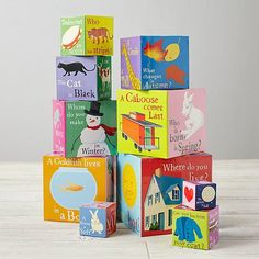 Tower of Babble Stacking Blocks | The Land of Nod