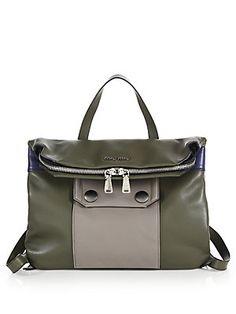 Miu Miu Small Multicolor Backpack