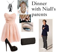 """""""Dinner with Niall's parents"""" by directioner1011 ❤ liked on Polyvore"""