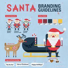 Santa Branding Guidelines on Behance