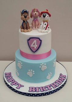 Cake Decorating Timeline Buttercream : 1000+ images about Cakes - PAW Patrol on Pinterest Paw ...