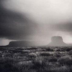 C4 director @ansonfogel photo \\ Veils of rain sweeping through Monument Valley. @visitutah @struck #roadtomighty ~ @alexandrafuller @daharbfilm @michael kunde @johnny bones @kill meow