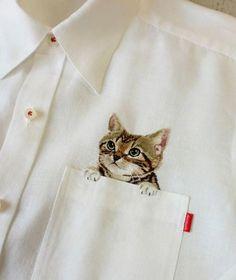 Moda para quem ama gatos
