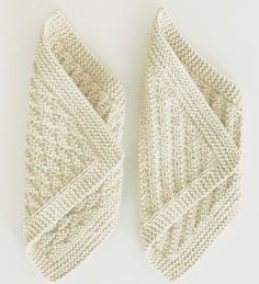 Very interesting for blankets Double Knitting Patterns, Lace Patterns, Knitting Stitches, Knitted Washcloth Patterns, Knitted Washcloths, Crochet Dishcloths, Crochet Home, Knit Crochet, Scrappy Quilts