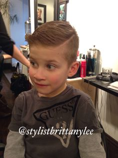 Childrens hairstyles Young boy haircut  Youth haircut Undercut  By @stylistbrittanylee  From windsor ontario @saloncure