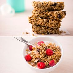 After a killer gym session, refuel with our Coconut Almond Chia Granola.