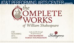 Don't miss this opportunity to see one of the least performed plays in Shakespeare's canon. This weekend, only at the AT&T Performing Arts Center.