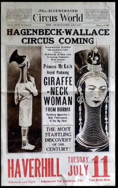 Circus Newspaper Ad