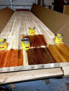 La tinción Su madera Pallet: Consejos para principiantes