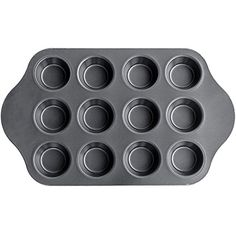 CTKcom 12Cavity Nonstick Tart Pan  CheesecakeMuffin Quiche Cupcake Tarts Pan for Muffins Cakes and Cupcakes *** Continue to the product at the image link.