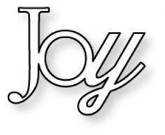 Papertrey Ink | Papertrey Ink - Wonderful Words: Joy Die