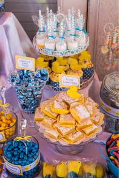 Lemon Bars/Rubber Ducky Birthday