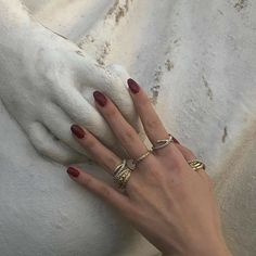 Pretty Nail Colors, Pretty Nails, Minimalist Nails, Beautiful Lips, Perfect Nails, Red Lipsticks, Nail Inspo, How To Do Nails, Little Things