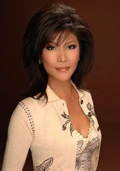Julie Chen  -  very good and beautiful news lady!!