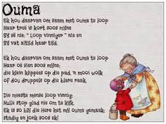 Ouma - soveel liefde quotes about grandchildren, kids poems, mothers day poems, afrikaans Mothers Day Poems, Kids Poems, Flirting Quotes, Funny Quotes, Afrikaans Language, Quotes About Grandchildren, Afrikaanse Quotes, Teaching Time, Teaching Activities