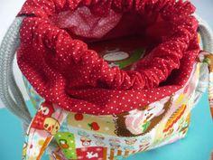 Kawaii Bento Bag sewing tutorial.