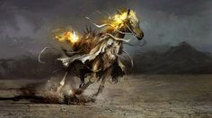 Glory, the white horse of conquest by theDURRRRIAN.deviantart.com on @deviantART