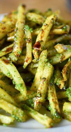 Pesto Fries