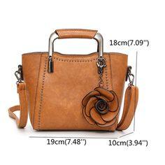 Hot-sale designer Women PU Leather Retro Rose Handbag Mini Crossbody Bag Online - NewChic