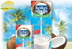 ΕΙΔΙΚΗ ΤΙΜΗ!!! €23 για 1 Κιβώτιο 12 Τεμαχίων 1 Λίτρου koko® Γάλα Καρύδας με Ασβέστιο Χωρίς Λακτόζη, από το Αιθέριο Bio Shop στην Λευκωσία.