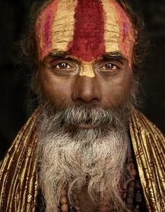 Sadhus | Hindu holy man, photograhed by Ken Hermann. India