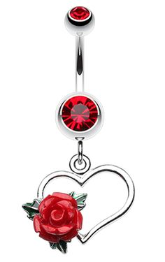 48 Popular Belly Button Rings You'll Love as Navel Piercings Piercings bellybutton nariz oreja Belly Button Piercing Rings, Cute Belly Rings, Bellybutton Piercings, Belly Button Jewelry, Ear Piercings, Rook Piercing, Nose Rings, Hearts And Roses, Body Jewellery