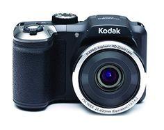 Für Schnappschüsse richtig gut...  Elektronik & Foto, Kamera & Foto, Digitalkameras, Kompaktkameras Eos, Kodak Pixpro, Bridge Camera, Camera Photography, Camcorder, Binoculars, Photos, Stuff To Buy, Black