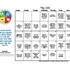 Free! Speech calendar to use with your students for May 2013/BSHM.     The calendar includes daily activities for students to practice their speech and...