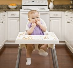 Over 40 Finger Foods Your Baby Will Love - Also, great tips on preparing foods for safe eating.