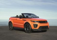 2017 Range Rover Evoque Convertible has only one available turbocharged engine with four cylinders and with the capacity of 2.0 liters...Price will be... #RangeRoverEvoqueConvertible