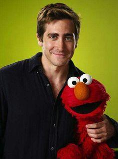Jake Gyllenhaal & Elmo