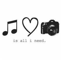 Music, love and photography. Yep that just about sums it up. . . except for food, sex, sleep and a couple thousand other things!