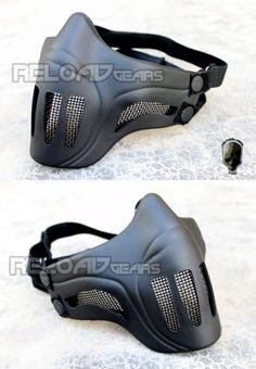 TMC Ghost Recon style Mesh Face Mask (Black)