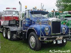 big trucks | Mack Truck Pictures: Tough Semi Trucks! Mack B Series trucks