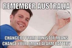 """""""Excellent tip from Bunbury electrician Andrew Scott with a deep insight into recent Australian politics Top Memes, Best Memes, Funny Memes, Jokes, Confession Bear, Dont Miss Me, A Funny Thing Happened, Australian Politics, Public Service Announcement"""