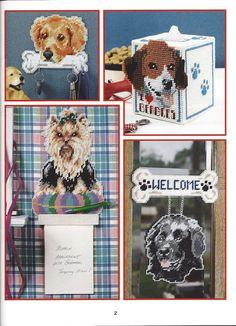 Les chiens que nous adorons livre toile en plastique Arts de