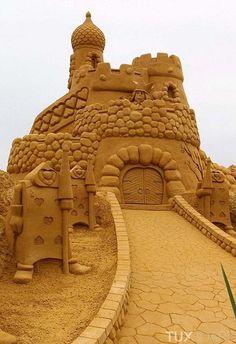 Les chateaux de sable les plus incroyables