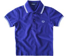 08907135 Fred Perry Kids Polo Shirts Fred Perry Kids Twin Tipped Polo Peacock - Terraces  Menswear