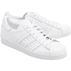 ADIDAS ORIGINALS Superstar 80S Metal Toe // Sneakers with metal toe... (8.225 RUB) ❤ liked on Polyvore featuring shoes, sneakers, metal sneakers, 1980s shoes, 80s footwear, toe cap shoes and cap toe shoes