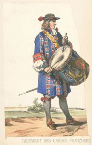 French; Garde Francais Drummer War Of The Spanish Succession