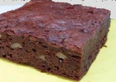 This recipe makes a dense but still cake like brownie with a strong banana flavor. I am not sure where I got this recipe but I have been making these for a long time. And yes, it really does take only 1/2 cup of flour. Be sure to test before removing from oven. Depending on your oven it may need to bake longer than 40 minutes.