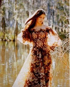 Jane Seymour (possibly 1970s Monsoon campaign)