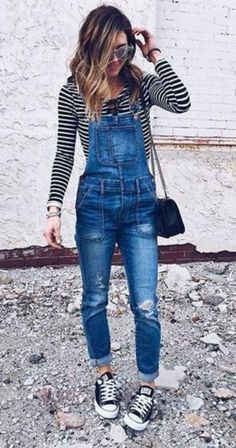 Comfy denim overalls for women style (64) - Fashionetter