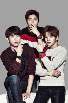 [CF] INFINITE Woohyun, Sungjong & L – Diesel Watch 1666x2500