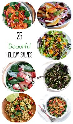 25 Healthy Holiday Salad Recipes